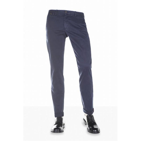 Blue Chinos Trousers by Paul Taylor - The Perfect Provenance