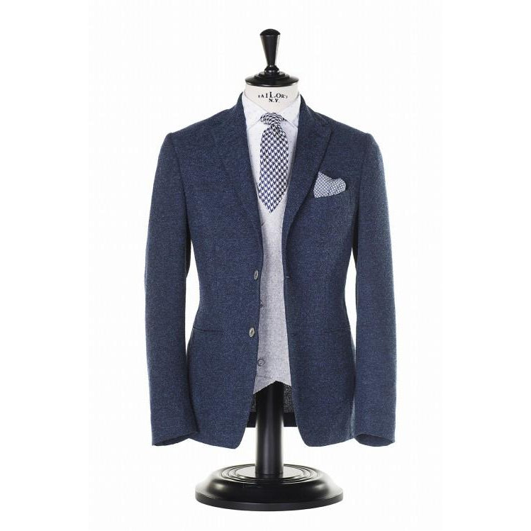 Blue-slim-fit-blazer-PaulTaylor