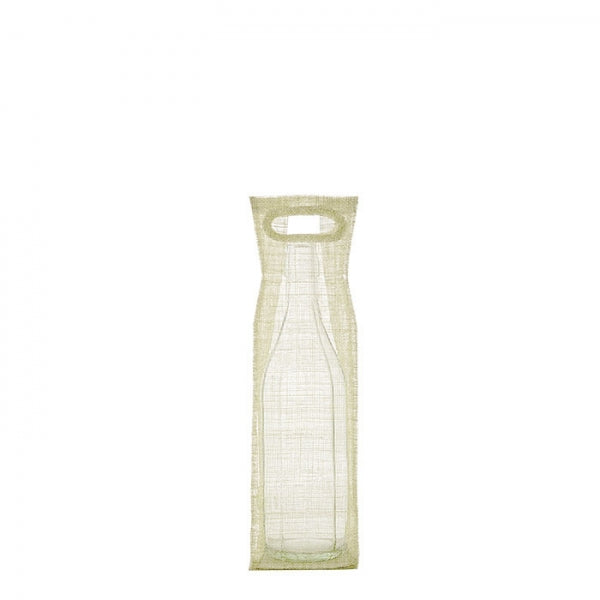 Cream Abaca Net Bottle Holder By Fiorira Un Giardino - The Perfect Provenance