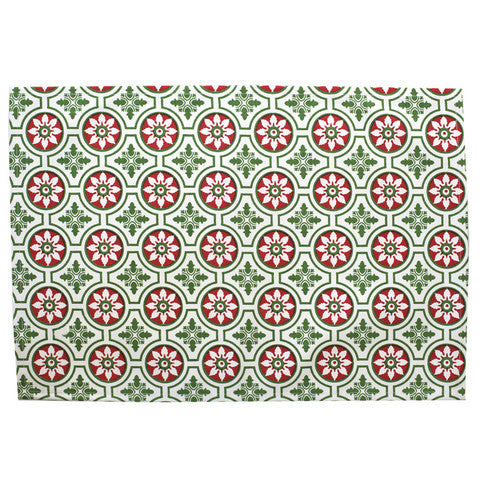 Christmas Tile Placemat -- Set of 4