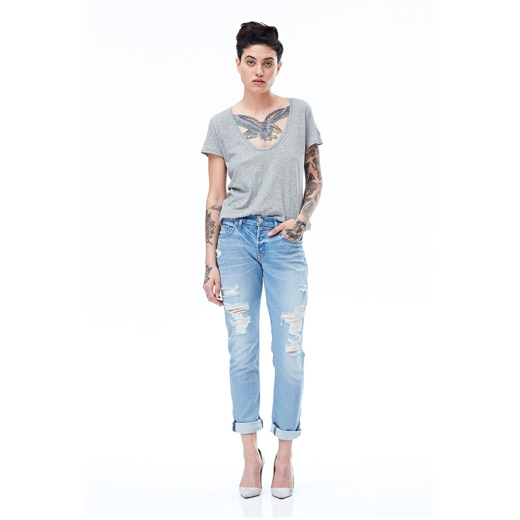 Riley Cropped Jean By Hudson Jeans - The Perfect Provenance