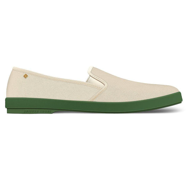 Rivieras-beige-green-sole-shoe
