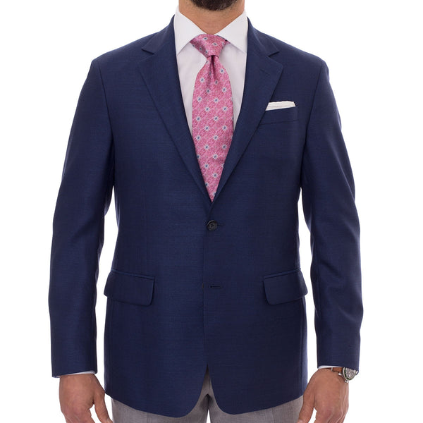Navy Sport Coat by Robert Talbott - The Perfect Provenance