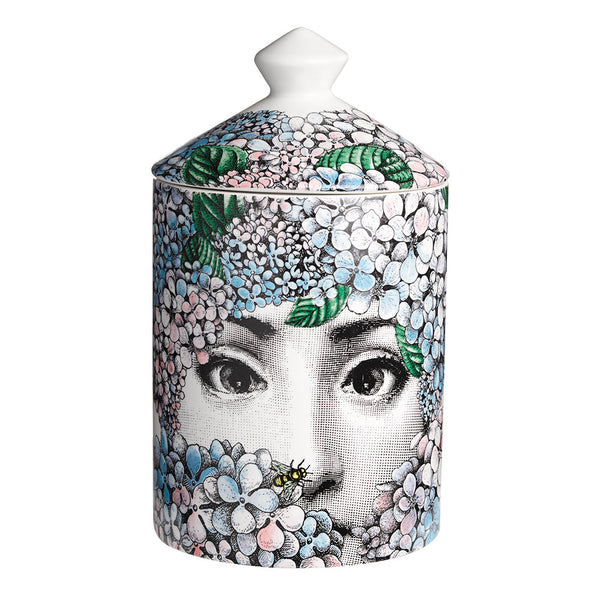 Ortensia Candle in 300g or 900g By Fornasetti - The Perfect Provenance
