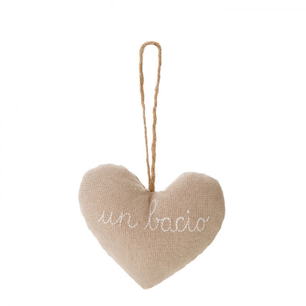 Un Bacio Heart Ornament by Fiorira un Giardino - The Perfect Provenance