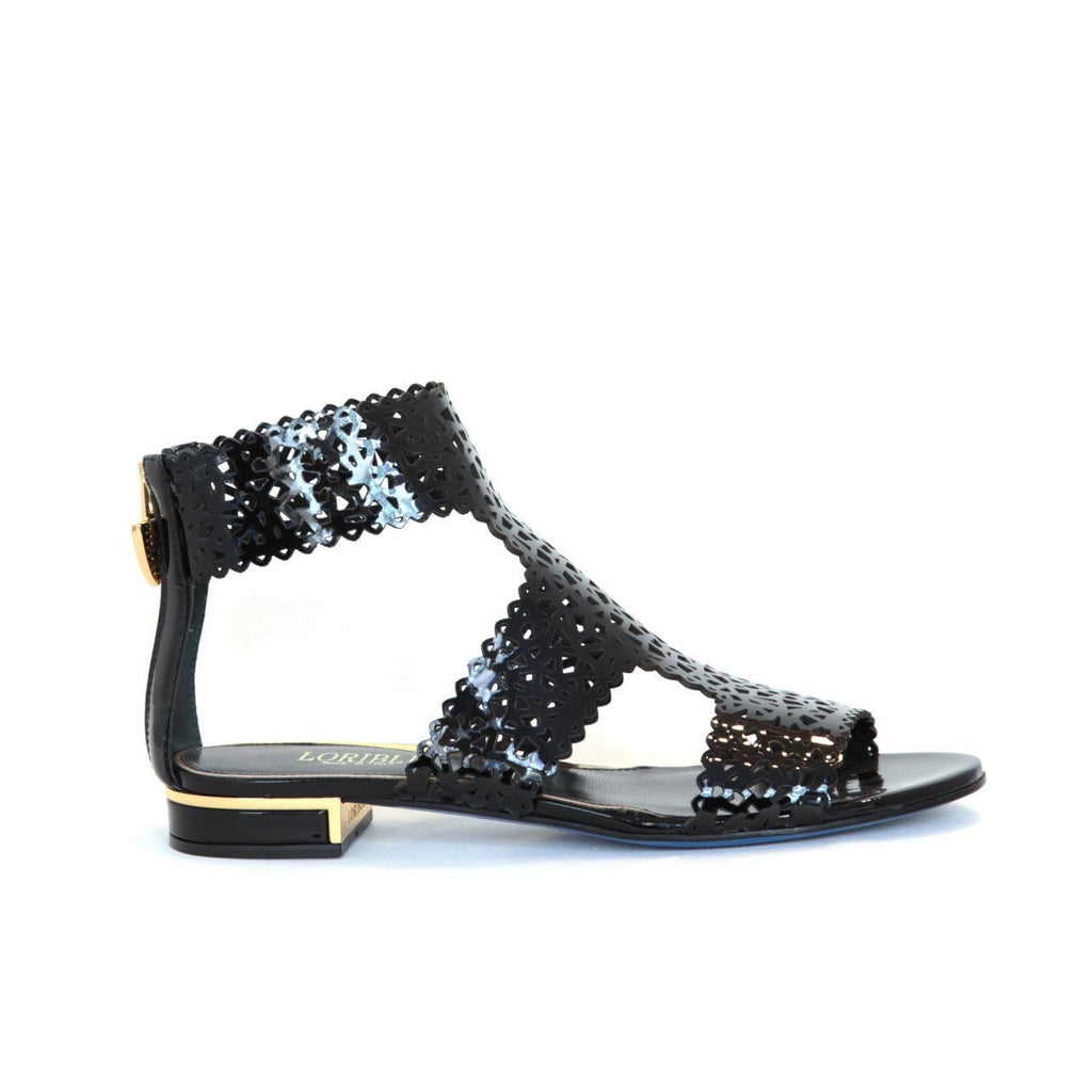 Black Patent Sandal by Loriblu - The Perfect Provenance