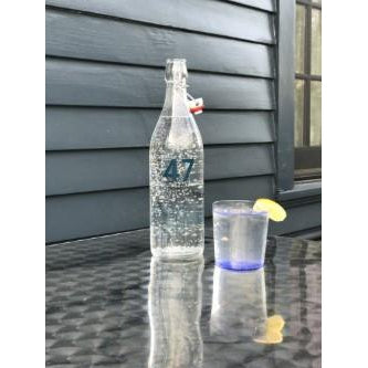 Cafe 47 Glass Water Bottle