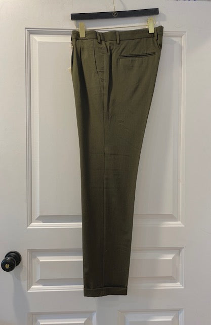 Olive Green Trouser by Paul Taylor