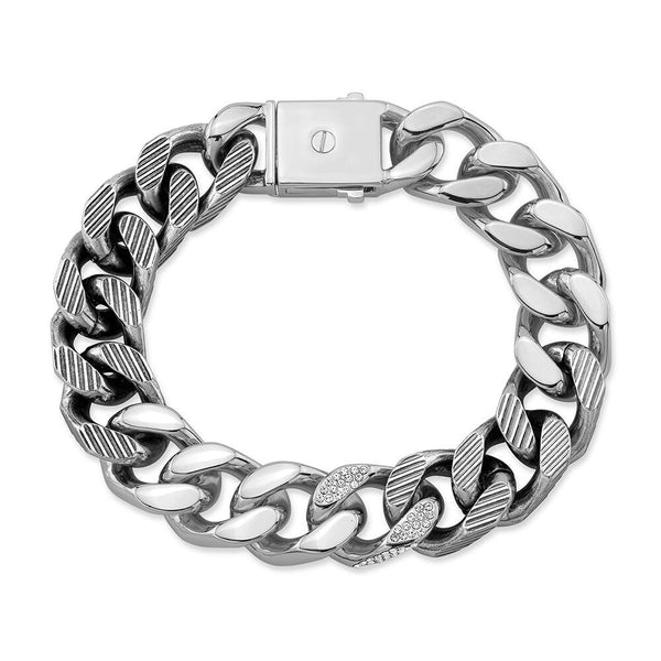 Franco Crystal Silver Bracelet By Vita Fede - The Perfect Provenance