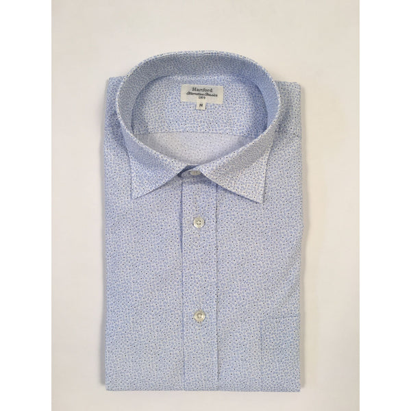 Light Blue Flowers Shirt by Hartford - The Perfect Provenance