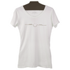 Women's Smile More Organic Cotton Tees in Licorice or Marshmellow - The Perfect Provenance