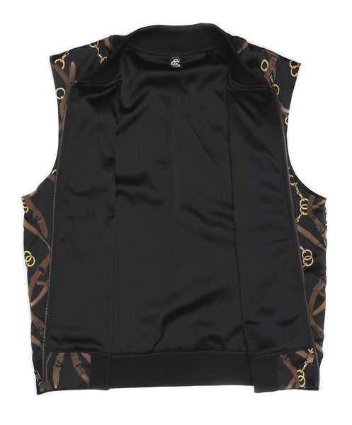 SSC CHAIN LINK SATIN VEST