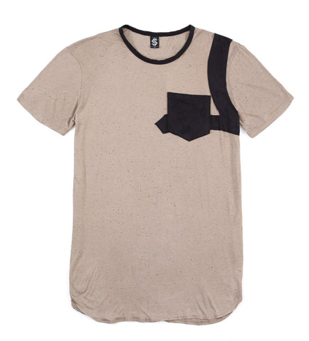 SSC Pocket Snub Short Sleeve (Sandstone/Black Suede)