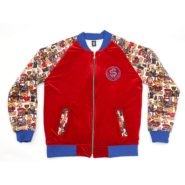 SSC CASINO JACKET RED/BEARS