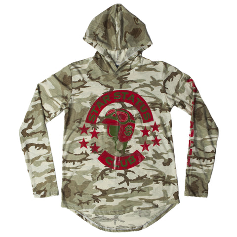 Camouflage Pilot Hoody