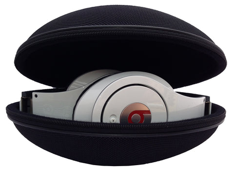 CASEBUDi Headphone Case - Compatible with many Beats and similar folding Headphones - including Studio, Solo, Solo HD, and Wireless