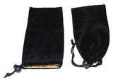 Premium Soft Sunglasses Case - 2 Pack - Thick Sofa Velvet with Silky Satin Lining