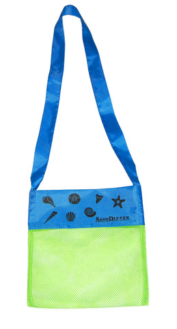 Sand Dipper Shell Collecting Beach Bag