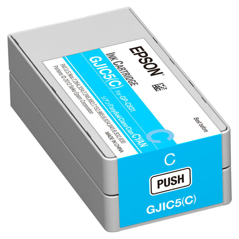 Epson GP-C831 Cyan Ink Cartridge GJIC5(C)  SKU: C13S020564