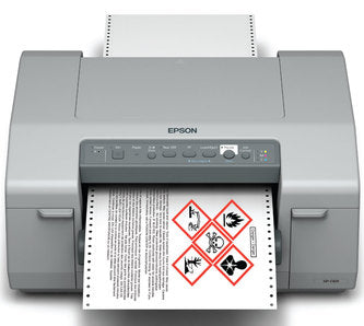 Epson GP-C831 Color Label Printer SKU C11CC68121
