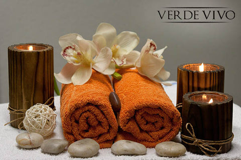 spa day verde vivo cosmeticos
