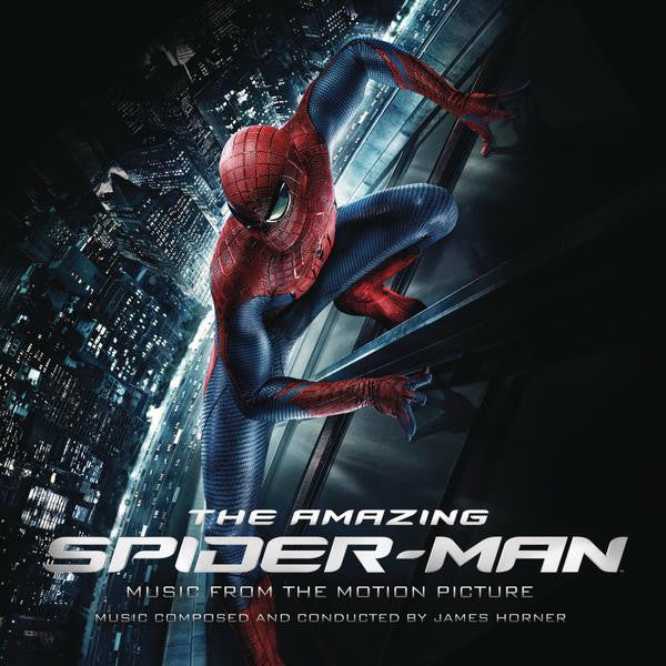 "SPACELAB9 ANNOUNCES ""THE AMAZING SPIDERMAN: MUSIC FROM THE MOTION PICTURE"" DOUBLE LP"