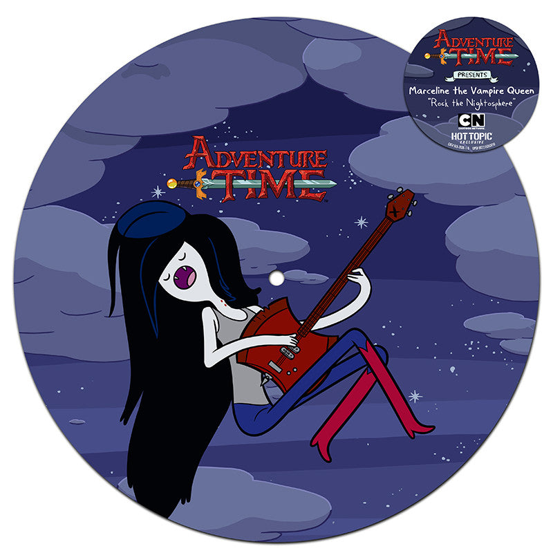 "SPACELAB9 ANNOUNCES THE RELEASE OF ADVENTURE TIME PRESENTS: MARCELINE THE VAMPIRE QUEEN ""ROCK THE NIGHTOSPHERE"" PICTURE DISC MINI LP"
