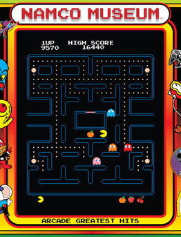 SPACELAB9 ANNOUNCES THE RELEASE OF NAMCO MUSEUM ARCADE GREATEST HITS LP