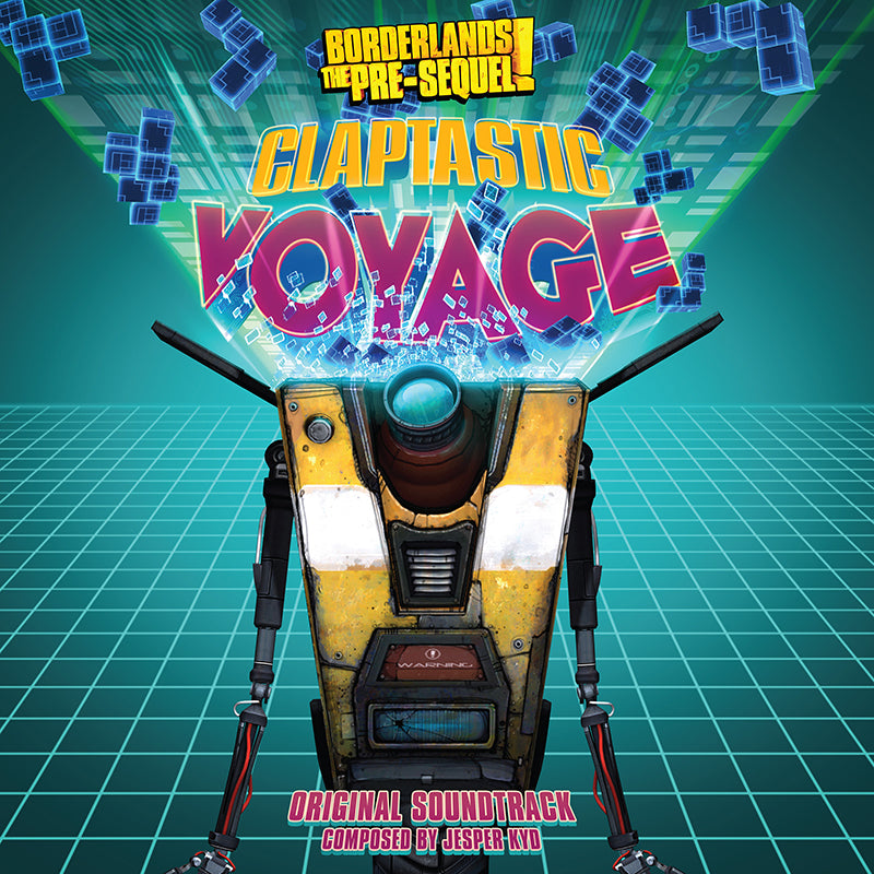 SPACELAB9 ANNOUNCES BORDERLANDS THE PRE-SEQUEL!: CLAPTASTIC VOYAGE ORIGINAL SOUNDTRACK LP