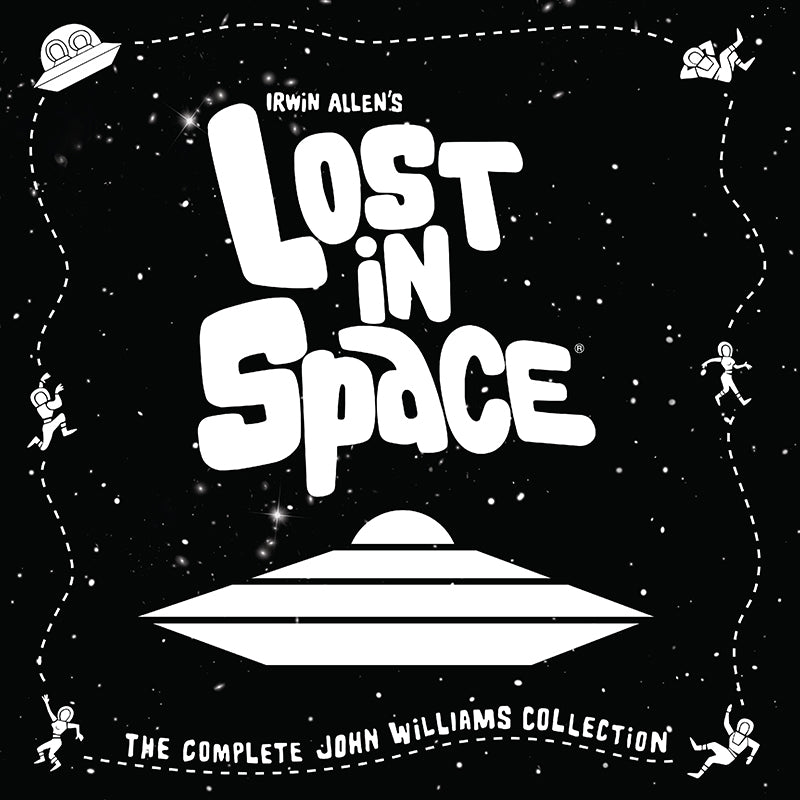 SPACELAB9 Announces: LOST IN SPACE: COMPLETE JOHN WILLIAMS COLLECTION 4LP BOX SET