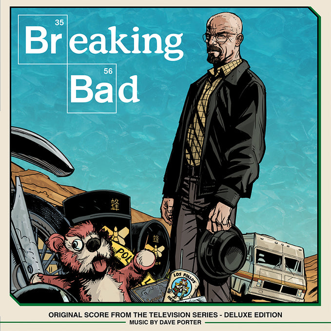 SPACELAB9 ANNOUNCES THE RELEASE OF BREAKING BAD: Original Score From The Television Series Deluxe Edition Four LP Box Set