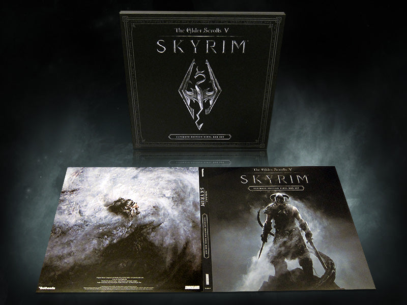 "SPACELAB9 ANNOUNCES THE ELDER SCROLLS V: SKYRIM ""ULTIMATE EDITION"" VINYL BOX SET"