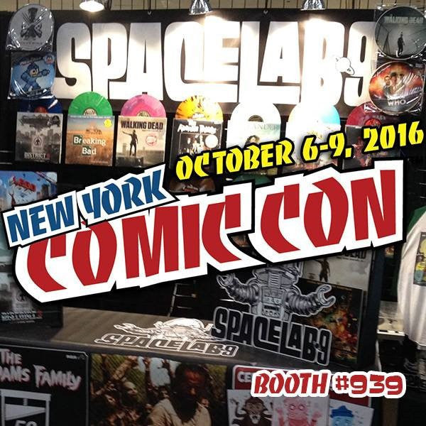 SPACELAB9 RETURNS TO NEW YORK COMIC CON