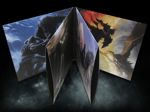"SOLD OUT The Elder Scrolls V: Skyrim ""Ultimate Vinyl Edition"" 4 LP Box Set [SPACELAB9.com Exclusive ""Circlet"" Variants]"