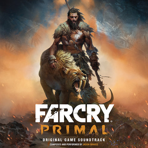 SOLD OUT Far Cry Primal: Original Game Soundtrack Double LP [Cave Painting Variant - SPACELAB9 Exclusive]