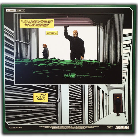 "Breaking Bad: Original Score From The Television Series - Deluxe 4 LP Box Set [NYCC ""Green Smoke"" Variant]"
