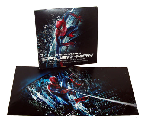 SALE - The Amazing Spiderman: Music from the Motion Picture DOUBLE LP [Red / Blue Vinyl Variant]