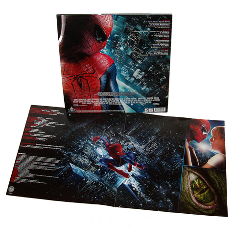 The Amazing Spiderman: Music from the Motion Picture DOUBLE LP [Red / Blue Vinyl Variant]