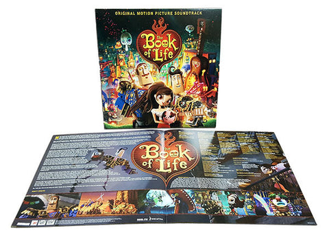 Book of Life: Original Motion Picture Soundtrack LP [Blue, Red or Purple Vinyl]