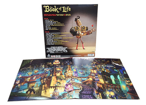 SALE - Book of Life: Original Motion Picture Soundtrack LP [Blue, Red or Purple Vinyl]