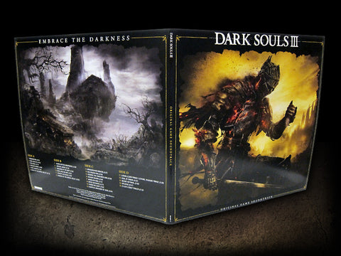 Dark Souls III: Original Game Soundtrack Double LP [*Dark Eye Orb* SPACELAB9 NYCC Exclusive]