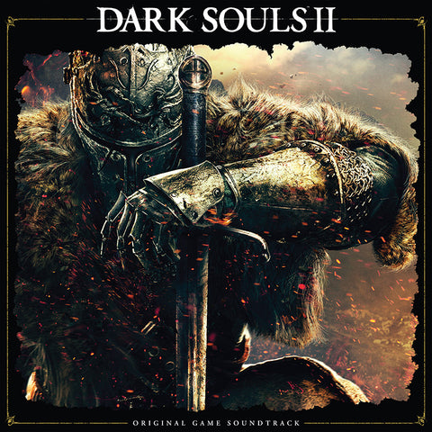 ** PRE-SALE ** DARK SOULS II: Original Game Soundtrack Double LP [*Elemental Fire* SPACELAB9 Exclusive]