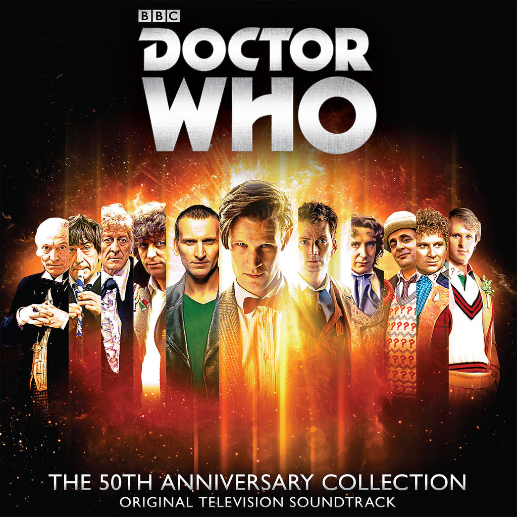 Doctor Who: The 50th Anniversary Collection 4 LP Box Set [Adipose White Vinyl Variant]