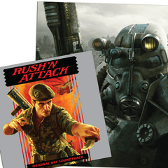 FALLOUT 3: 4LP Box Set & RUSH 'N ATTACK *Bundle* [SL9 Exclusive Variants]