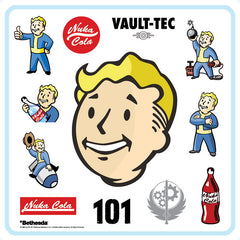SOLD OUT Fallout® 3: Original Game Soundtrack LP [*Vault Boy v1.0* Variant - SPACELAB9 Exclusive]