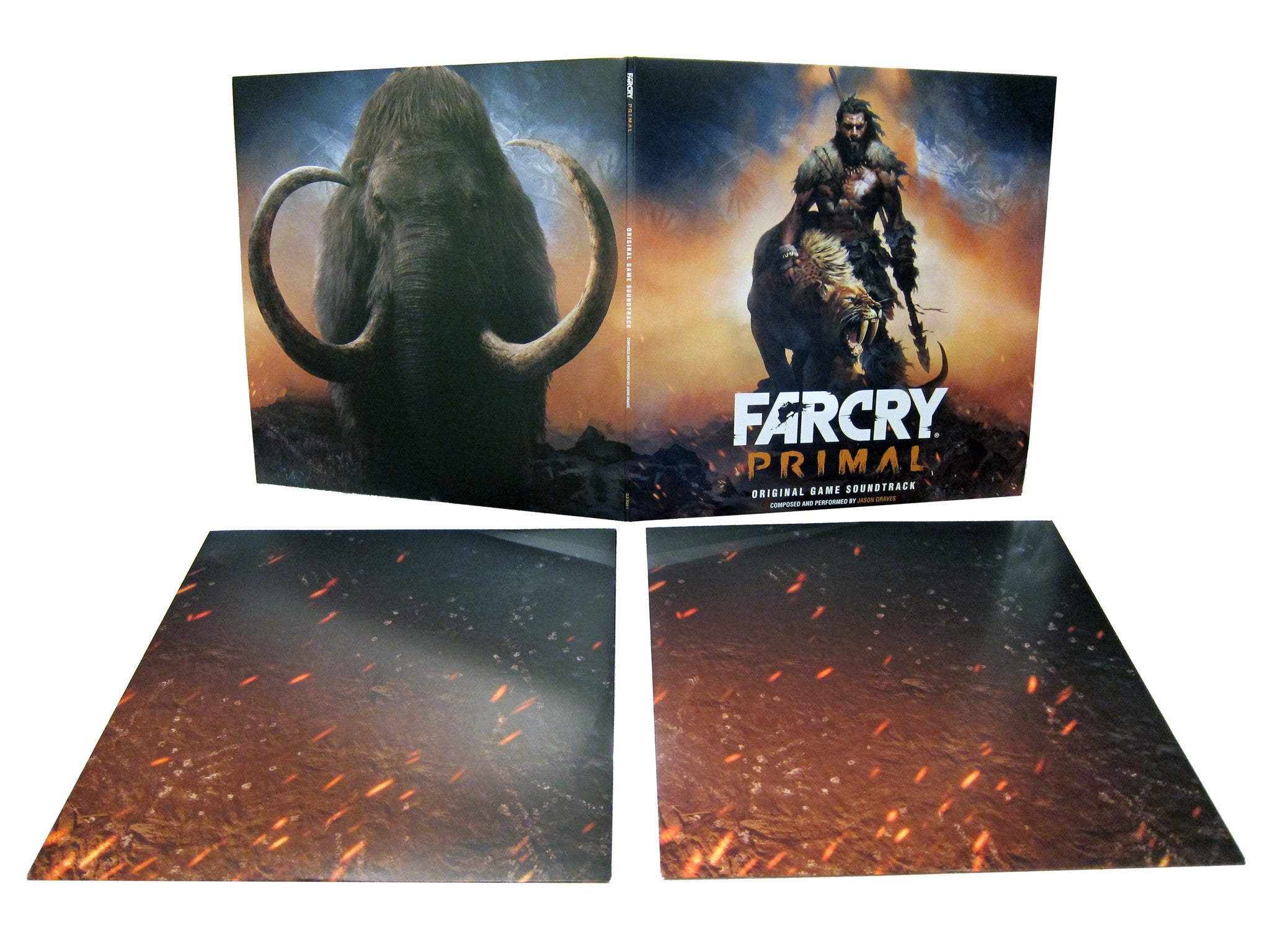 Far Cry Primal: Original Game Soundtrack Double LP [Cave