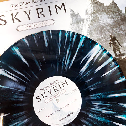 "SOLD OUT The Elder Scrolls V: Skyrim ""Atmospheres"" LP [""Mount Anthor"" Colored Vinyl Variant]"