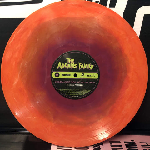 "ADDAMS FAMILY: Original Music From The Addams Family LP [SL9 Exclusive ""Halloween Hootenanny"" Vinyl Variant]"