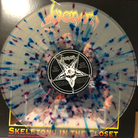 VENOM: Skeletons in the Closet Double LP [WaxManiax.com Colored Vinyl Exclusive]