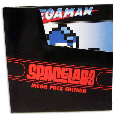 SOLD OUT Mega Man: Best of Mega Man 1-10 LP [NYCC Exclusive * Mega Splatter * Vinyl Variant]